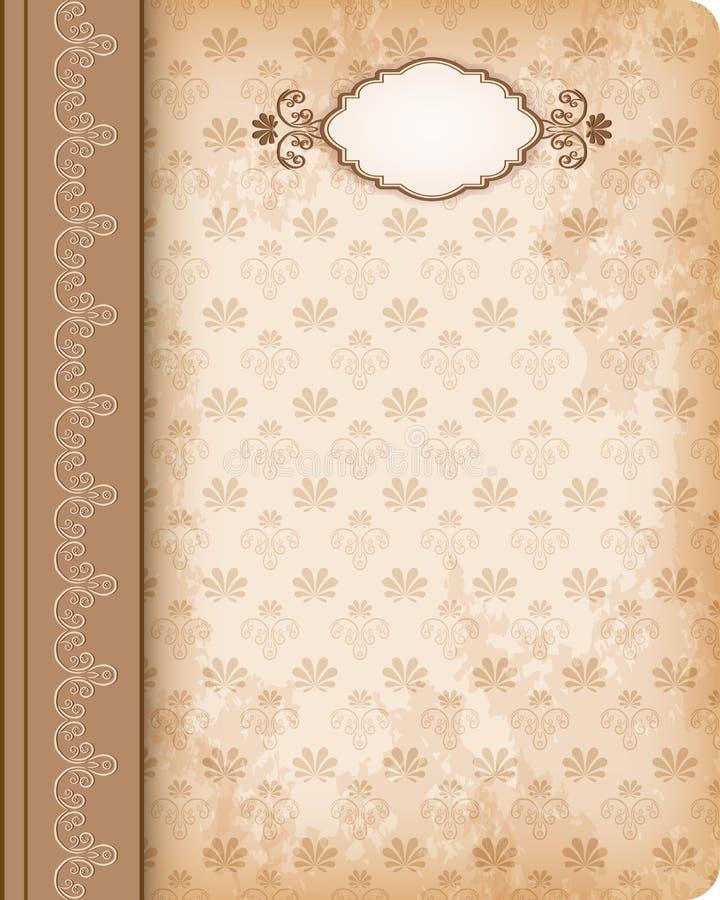 Βιβλίο κάλυψης. διανυσματική απεικόνιση