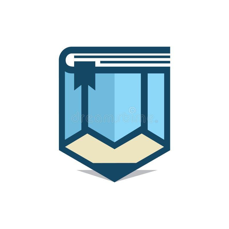 Βιβλίο μολυβιών ελεύθερη απεικόνιση δικαιώματος