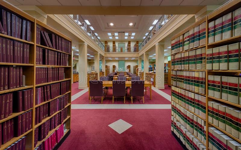 Βιβλιοθήκη ανώτατου δικαστηρίου της Φλώριδας στοκ εικόνα