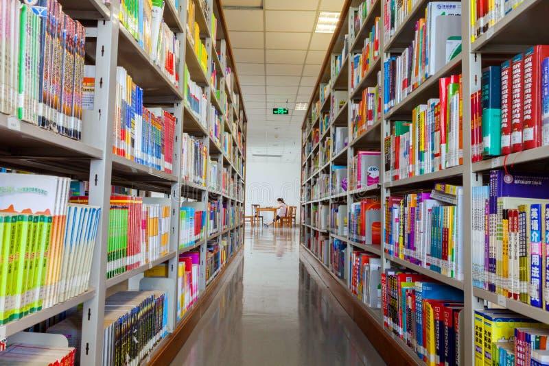 Βιβλιοθήκη - βιβλία στοκ εικόνα με δικαίωμα ελεύθερης χρήσης