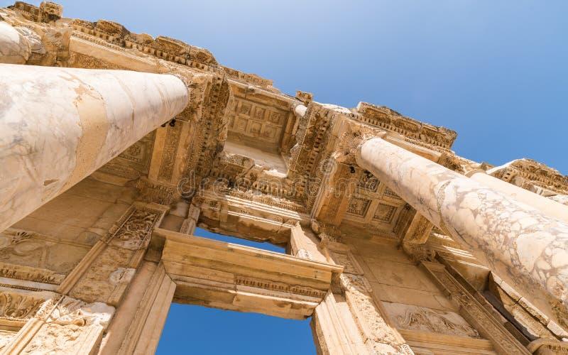 Βιβλιοθήκη του Κέλσου σε Ephesus στοκ εικόνα με δικαίωμα ελεύθερης χρήσης
