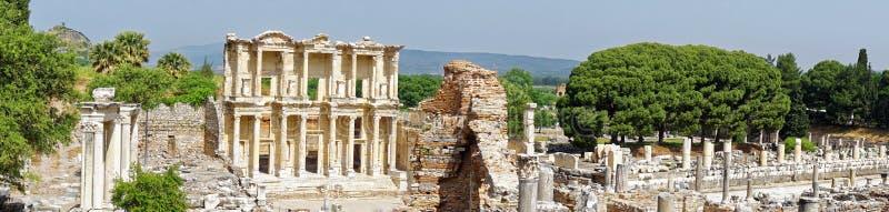 Βιβλιοθήκη του Κέλσου σε Ephesus στοκ φωτογραφίες