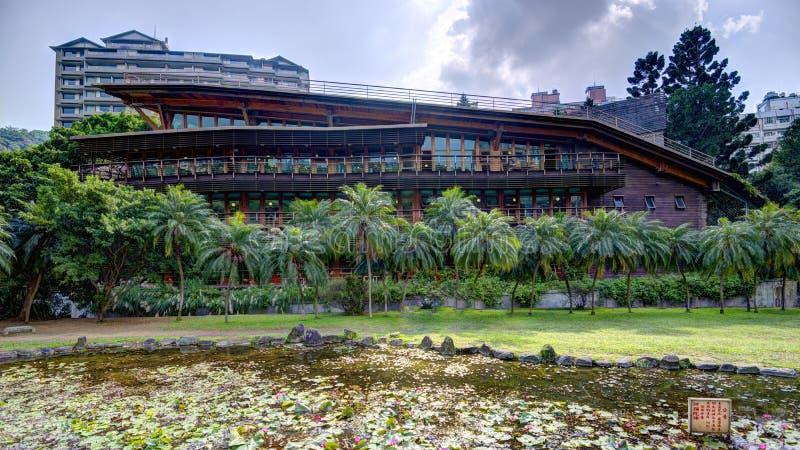 Βιβλιοθήκη Beitou στοκ εικόνα