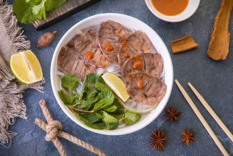 Βιετναμέζικη σούπα στοκ φωτογραφίες με δικαίωμα ελεύθερης χρήσης