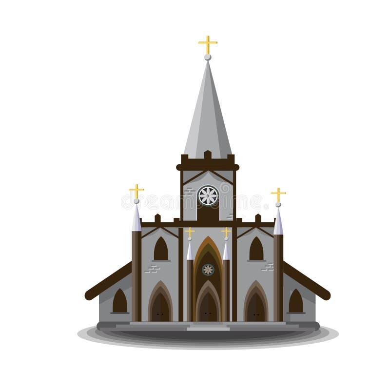 Βικτοριανό τσεκούρι εκκλησιών ελεύθερη απεικόνιση δικαιώματος