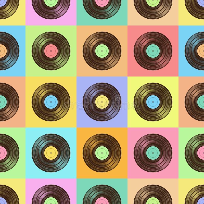 Βινυλίου σχέδιο χρώματος ελεύθερη απεικόνιση δικαιώματος