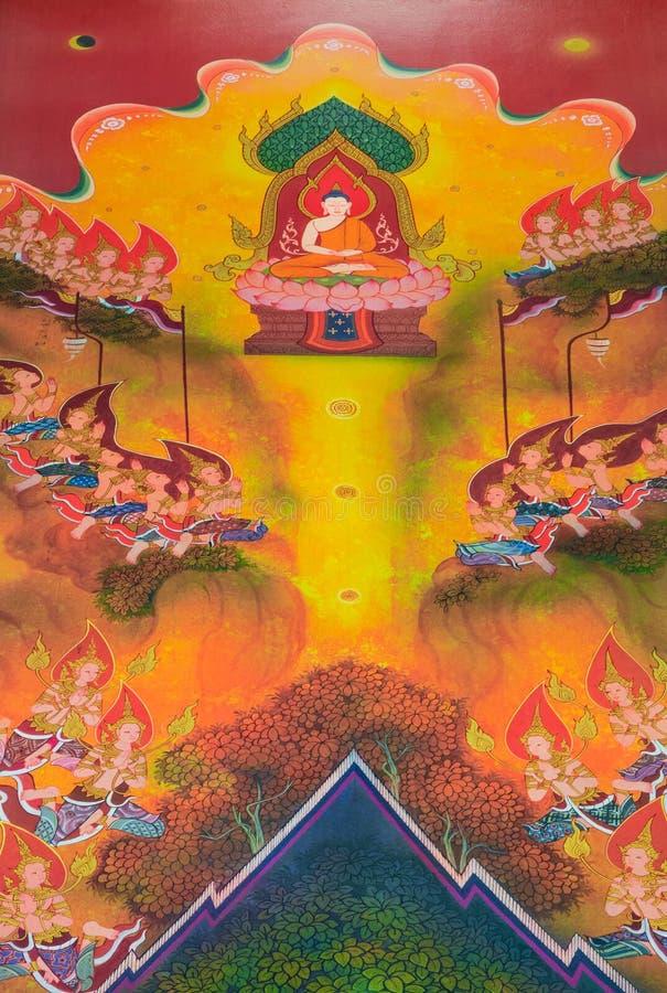 Βιογραφία του Βούδα: Ο μεγάλος Διαφωτισμός στοκ εικόνες