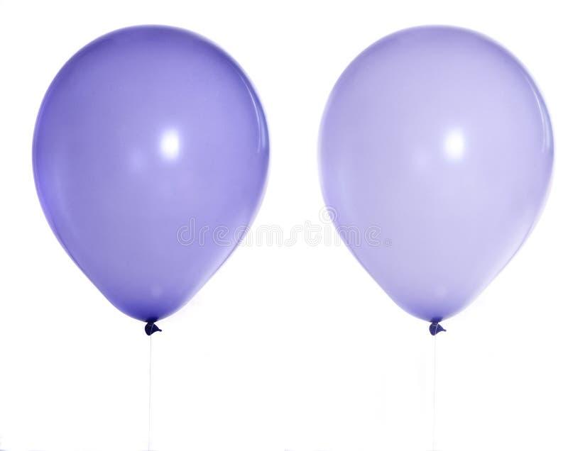 βιολέτα μπαλονιών στοκ εικόνες