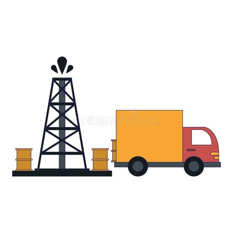 Βιομηχανία αντλιών πετρελαίου απεικόνιση αποθεμάτων