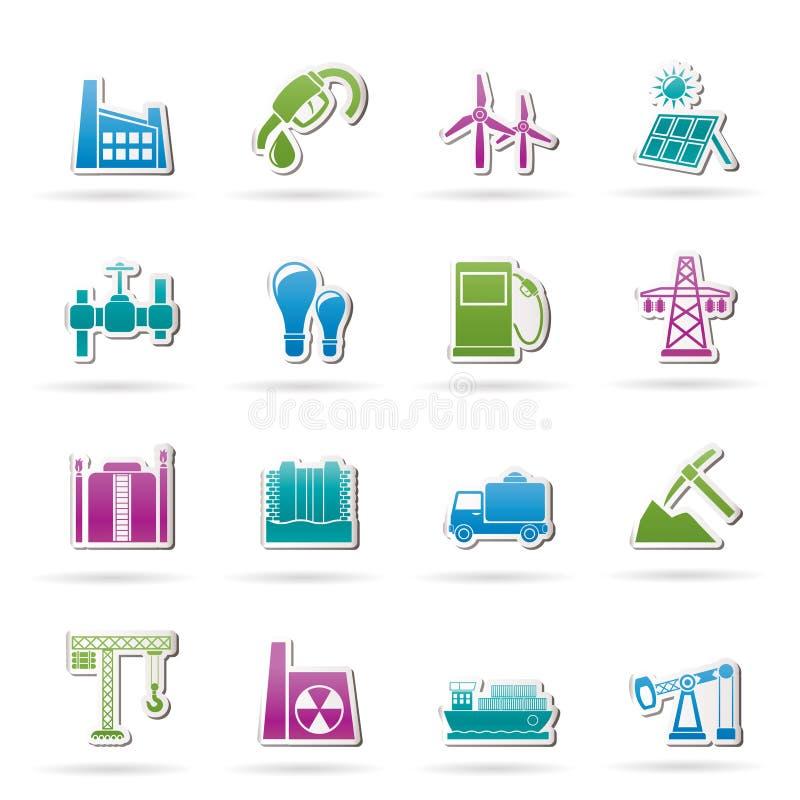 βιομηχανία επιχειρησιακ απεικόνιση αποθεμάτων
