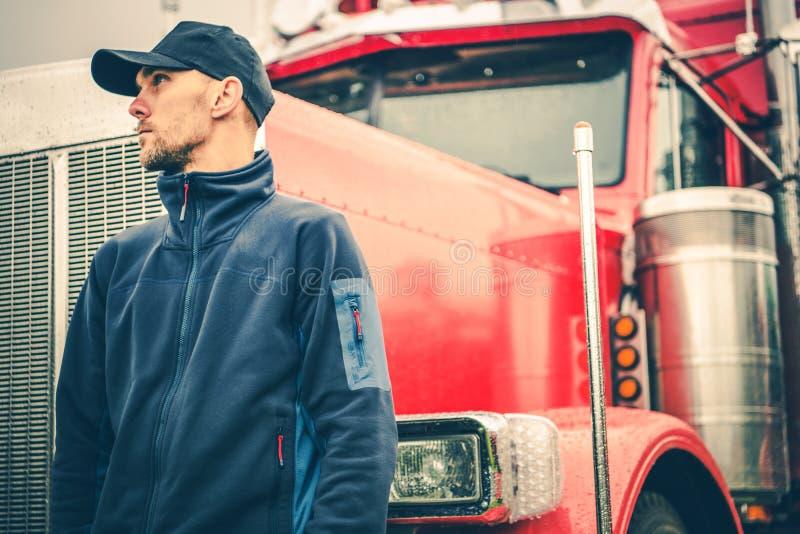 Βιομηχανία μεταφορών φορτηγών στοκ εικόνες