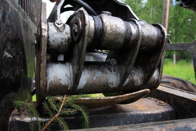 Βιομηχανία ξυλείας στοκ φωτογραφία