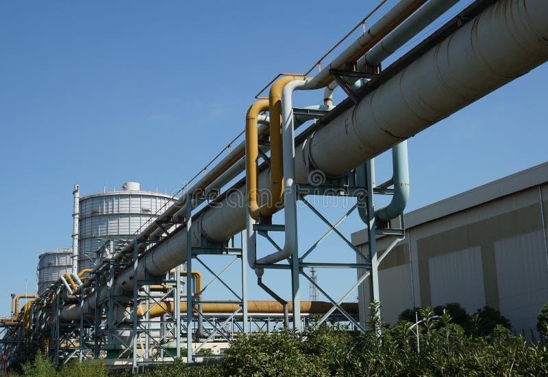 Βιομηχανικές εγκαταστάσεις στοκ φωτογραφία με δικαίωμα ελεύθερης χρήσης