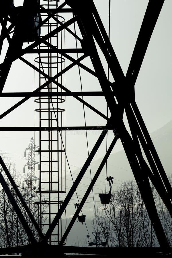 Βιομηχανικές εγκαταστάσεις στοκ εικόνες με δικαίωμα ελεύθερης χρήσης