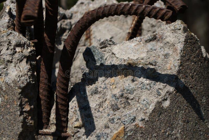 Βιομηχανικές καταστροφές που χτίζουν τις λεπτομέρειες στοκ φωτογραφίες με δικαίωμα ελεύθερης χρήσης