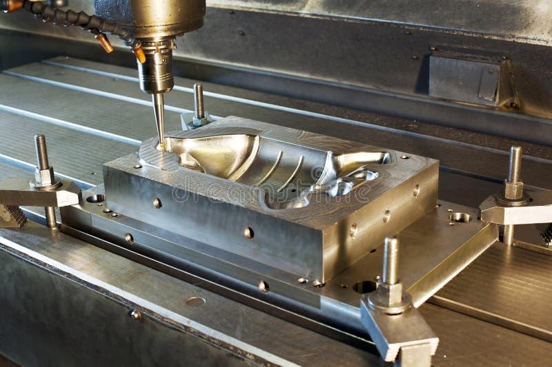 Βιομηχανική άλεση φορμών μετάλλων στοκ φωτογραφίες με δικαίωμα ελεύθερης χρήσης