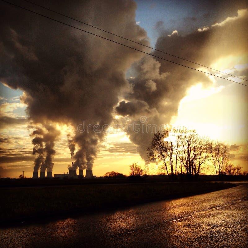 βιομηχανική αιθαλομίχλη στοκ φωτογραφίες με δικαίωμα ελεύθερης χρήσης