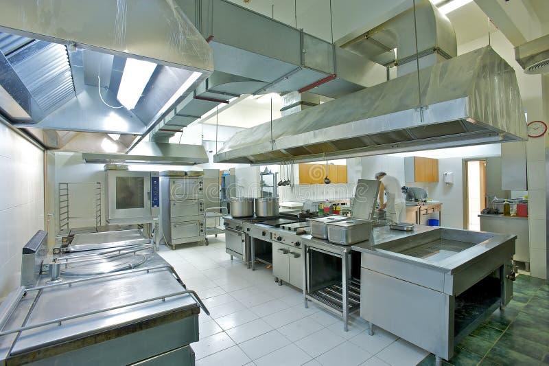 Βιομηχανική κουζίνα στοκ φωτογραφία με δικαίωμα ελεύθερης χρήσης
