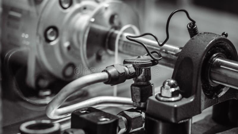 Βιομηχανική μηχανή γραμμών κατασκευής ρομπότ στοκ εικόνες