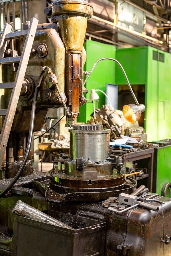 Βιομηχανική μηχανή στο εργοστάσιο στοκ φωτογραφίες
