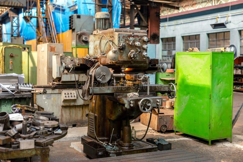 Βιομηχανική μηχανή στο εργοστάσιο στοκ εικόνες με δικαίωμα ελεύθερης χρήσης