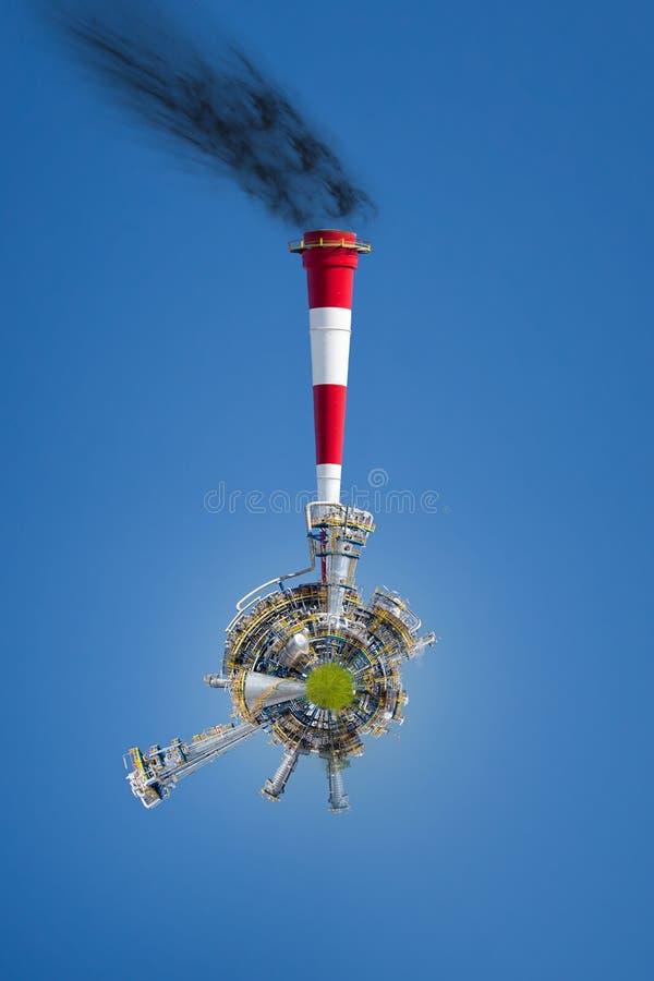 βιομηχανική ρύπανση στοκ εικόνες με δικαίωμα ελεύθερης χρήσης