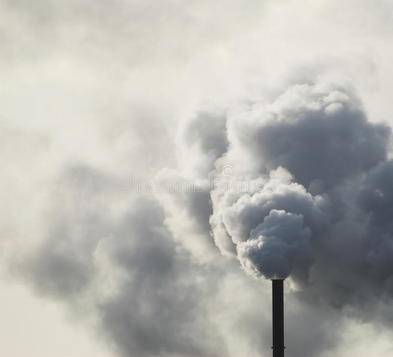 Download βιομηχανική στοίβα καπνού στοκ εικόνες. εικόνα από περιβαλλοντικός - 22776878