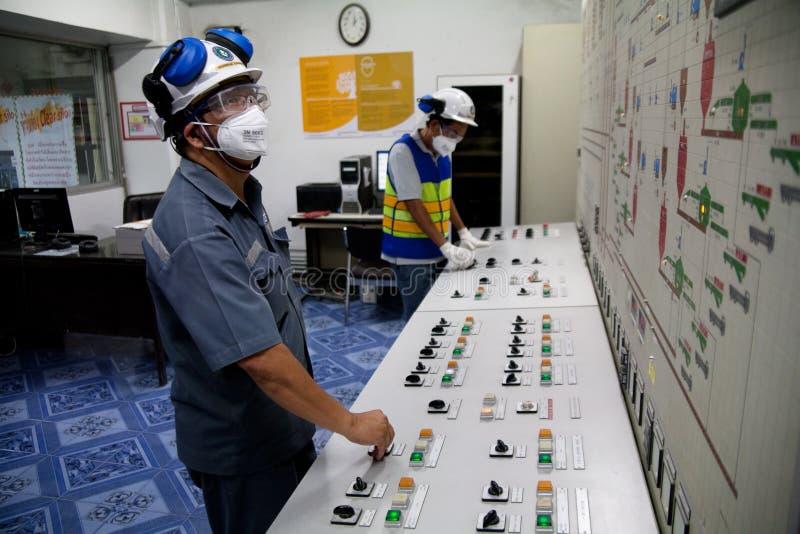 Βιομηχανικοί εργάτες τσιμέντου στοκ εικόνες με δικαίωμα ελεύθερης χρήσης