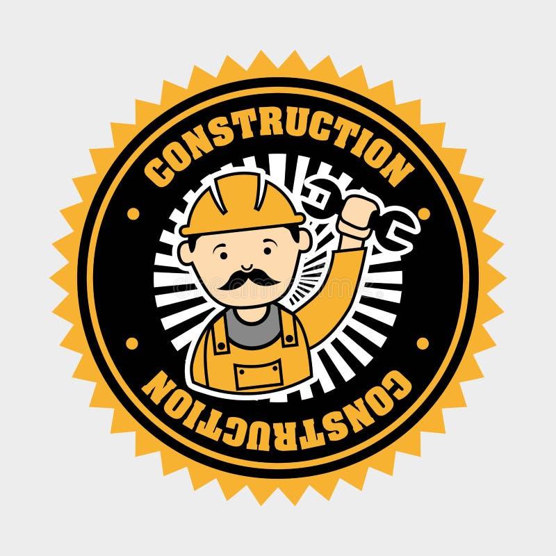 Βιομηχανικοί εργάτες διανυσματική απεικόνιση