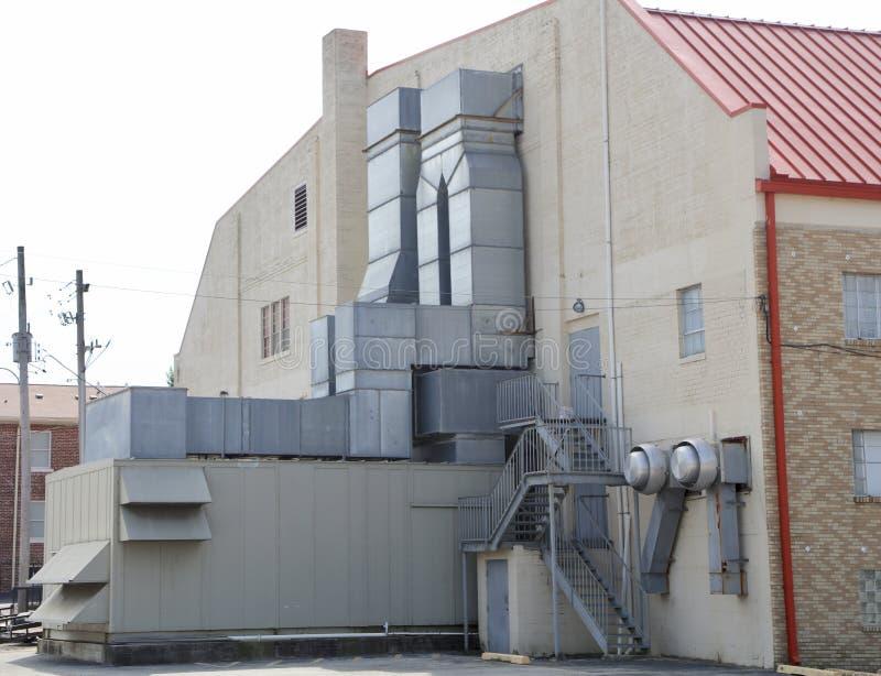 Βιομηχανικός εμπορικός βαθμός μονάδων HVAC στοκ φωτογραφία με δικαίωμα ελεύθερης χρήσης