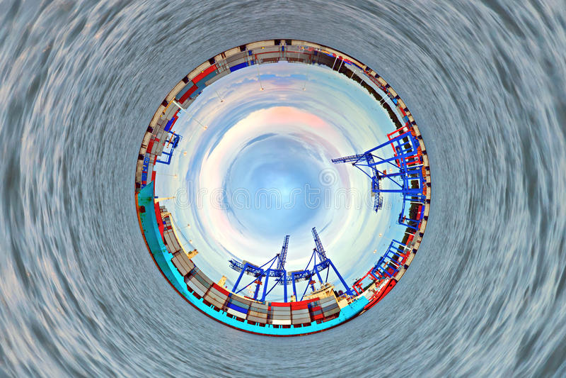 Βιομηχανικός κόσμος στοκ φωτογραφίες