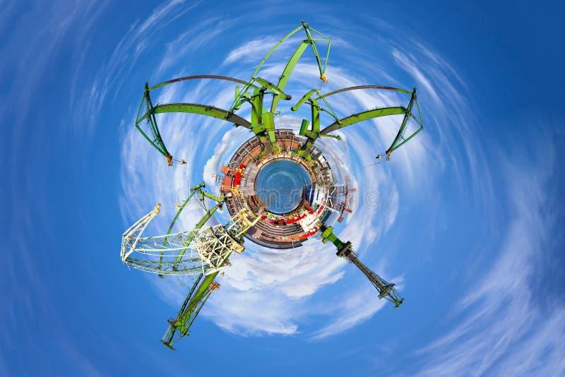 Βιομηχανικός κόσμος στοκ εικόνες με δικαίωμα ελεύθερης χρήσης