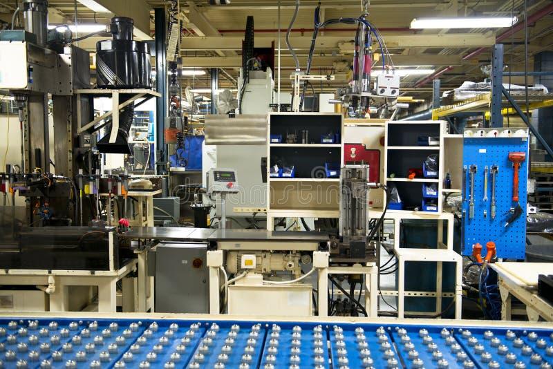 Βιομηχανικός σταθμός εργασίας εργοστασίων κατασκευής στοκ φωτογραφία με δικαίωμα ελεύθερης χρήσης