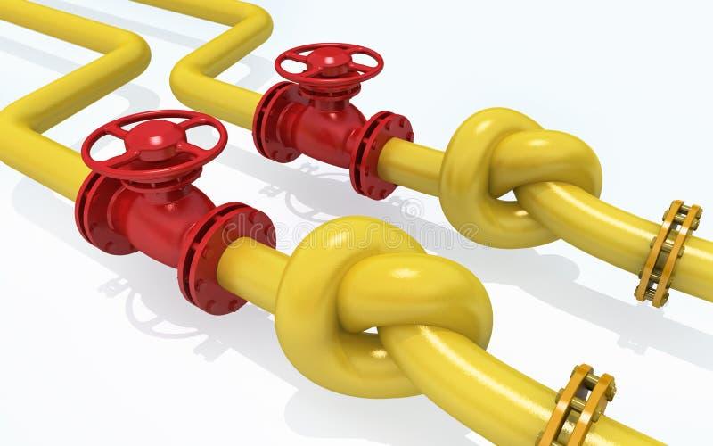 βιομηχανικός χάλυβας σωλήνων σωληνώσεων αερίου λεπτομέρειας περιοχής κίτρινος στοκ φωτογραφίες με δικαίωμα ελεύθερης χρήσης