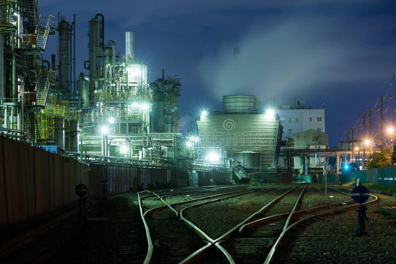 Βιομηχανικό κτήριο στο kawasaki στοκ εικόνες