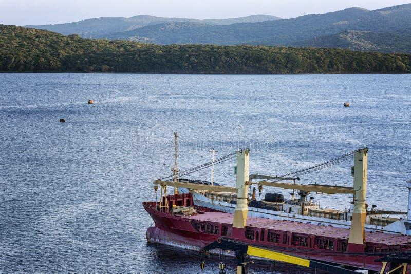Βιομηχανικό σκάφος εν πλω E r στοκ φωτογραφία