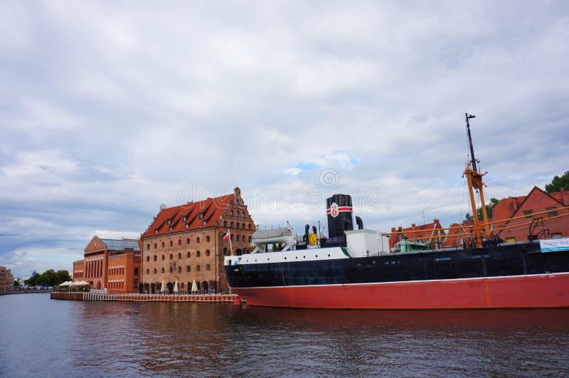 βιομηχανικό σκάφος στοκ φωτογραφία