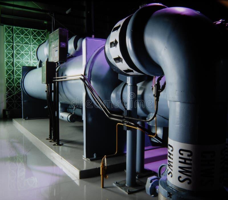 βιομηχανικό ύδωρ αντλιών στοκ φωτογραφία