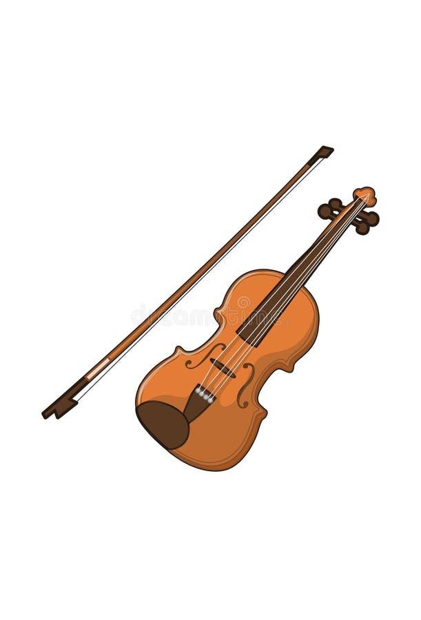 Βιολί απεικόνιση αποθεμάτων