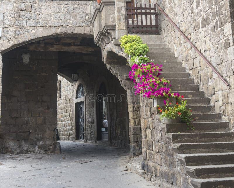 Βιτέρμπο (Ιταλία) στοκ φωτογραφία