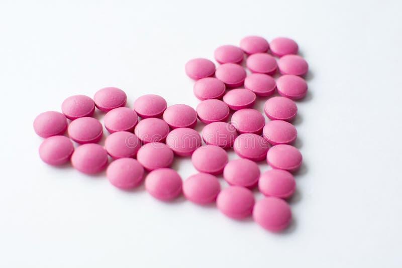 Βιταμίνες καρδιών, υγεία στοκ φωτογραφία με δικαίωμα ελεύθερης χρήσης