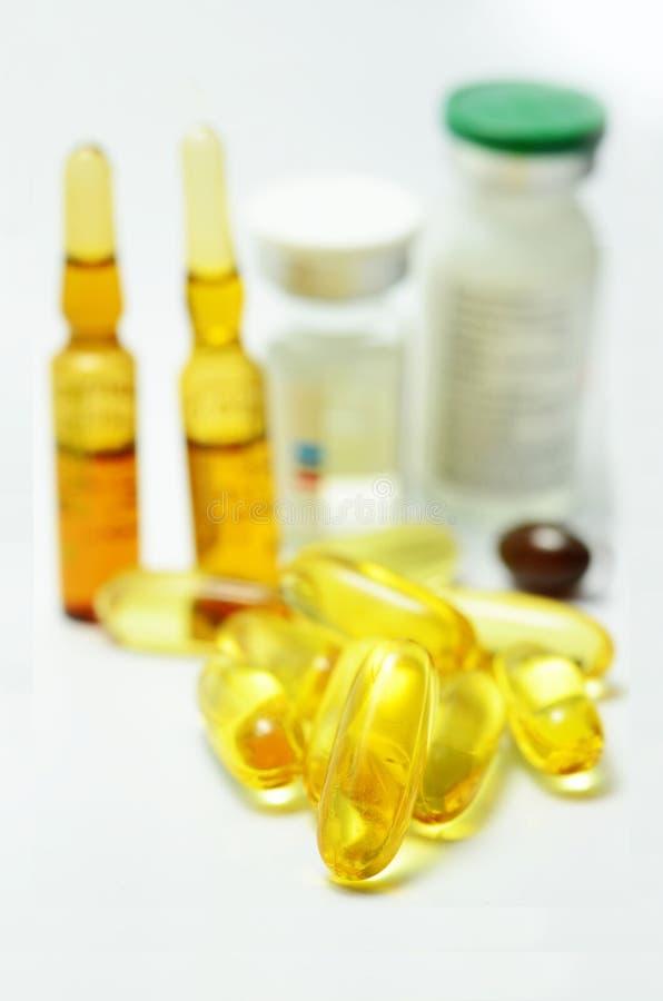 Βιταμίνη και φάρμακο στοκ φωτογραφία με δικαίωμα ελεύθερης χρήσης