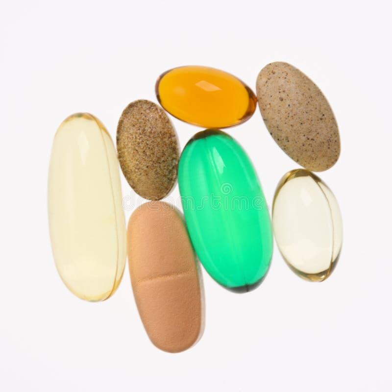 βιταμίνη συμπληρωμάτων στοκ φωτογραφία