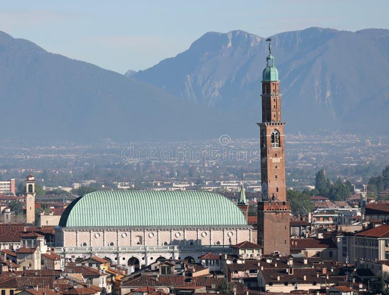 Βιτσέντσα, VI, Ιταλία - 27 Απριλίου 2019: αποκαλούμενη μνημείο βασιλική PA στοκ φωτογραφία με δικαίωμα ελεύθερης χρήσης