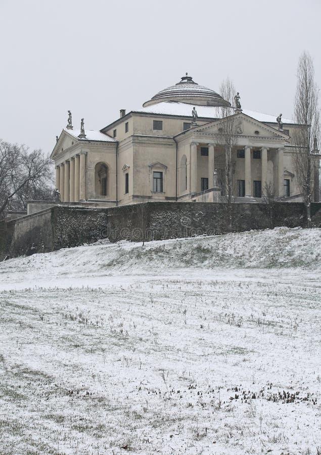 Βιτσέντσα, VI, Ιταλία - 1 Μαρτίου 2018: αρχαία βίλα αποκαλούμενη Λα ROTO στοκ φωτογραφία με δικαίωμα ελεύθερης χρήσης