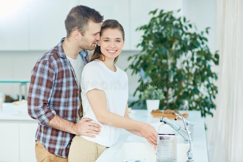 Βοήθεια της συζύγου στοκ εικόνες