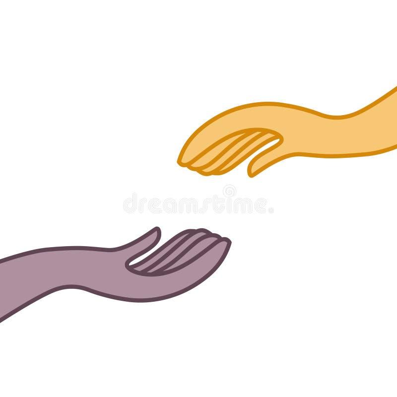 βοήθεια χεριών ελεύθερη απεικόνιση δικαιώματος