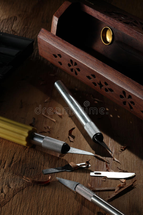 βοήθημα εργαλείων μαχαι&rh στοκ εικόνες με δικαίωμα ελεύθερης χρήσης