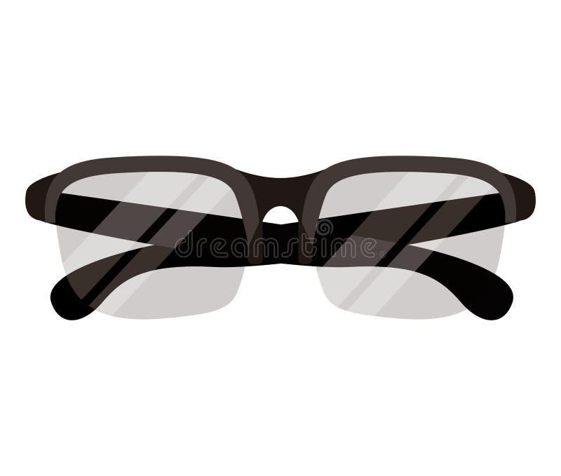 Βοηθητικό εικονίδιο γυαλιών απεικόνιση αποθεμάτων