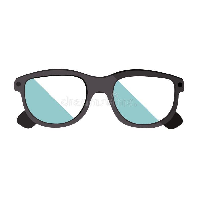 Βοηθητικό εικονίδιο γυαλιών διανυσματική απεικόνιση